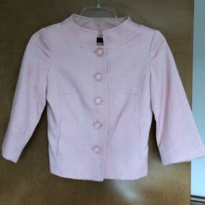 Pink Asian inspired cropped jacket
